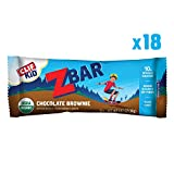 Clif Kid ZBAR - Organic Energy Bar - Chocolate Brownie - (1.27 Ounce Snack Bar, 18 Count) (Packaging May Vary)