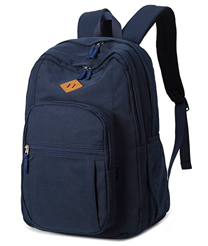 Abshoo Water Resistant School Bookbags For Unisex College Backpacks School Bag (Navy)