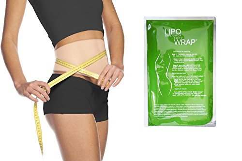 Ultimate Body Applicator Lipo Wrap. 4 Skinny Wraps for inch Loss, Tone and Contouring, it Works for Cellulite, and Stretch Marks Reduction. (4 Wraps)
