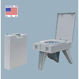 Cleanwaste Portable Toilet w/ 1 Waste Kit (D119PET)