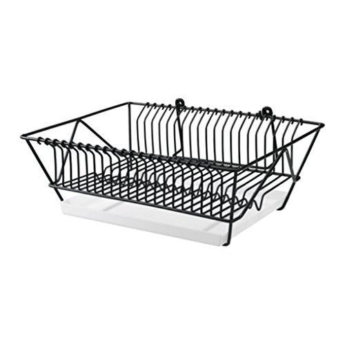 Ikea Steel Dish Drainer 802.131.73, Black