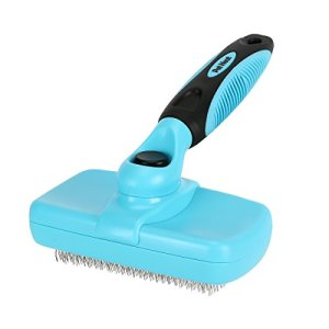 Pet Neat Self Cleaning Slicker Brush Effectively Reduces Shedding by Up to 95% - Professional Pet Grooming Brush for Small, Medium & Large Dogs and Cats, with Short to Long Hair 14