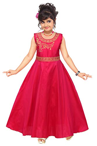 DEEP Pink Princess Gown