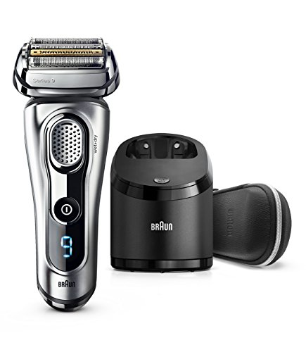 Braun Electric Shaver, Series 9 9290cc Men's Electric Razor / Electric Foil Shaver, Wet & Dry, Travel Case with Clean & Charge System