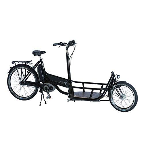 "PFIFF Adult Carrier Electric Cargo Bike (20"" & 26"" wheels), Black"