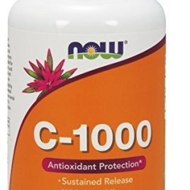 NOW Vitamin C-1000 Sustained Release,250 Tablets