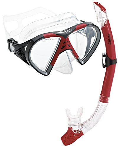 Phantom Aquatics Cancun Mask Snorkel Combo