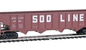 trains Mehano, Hopper Car SOO LINE 50′, H0 Scale 41iYTzeVtmL