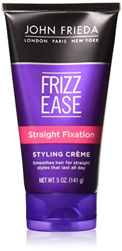 John Frieda Frizz Ease Straight Fixation Styling Creme, 5 Ounce (Pack of 3)