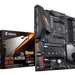 Gigabyte X570 AORUS Elite (AMD Ryzen 3000/X570/ATX/PCIe4.0/DDR4/USB3.1/Realtek ALC1200/Front USB Type-C/RGB Fusion 2.0/M…