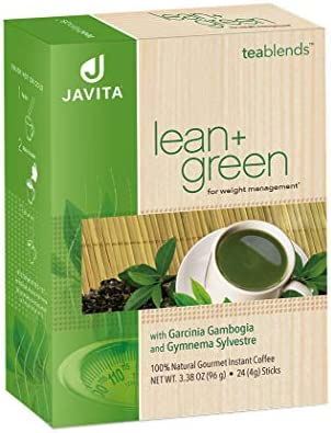 Lean + Green, Premium, 100% Sencha Green Tea, Super Citrimax (Garcinia Cambogia) & Gymnema Sylvestre, for Weight Management, Appetite Control and Sugar Balance 24 ct, Javita 8