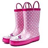 Natural Rubber Waterproof Cartoon Printed Rain Boot for Kids Thomas Princess Hello Kitty Angry Bird