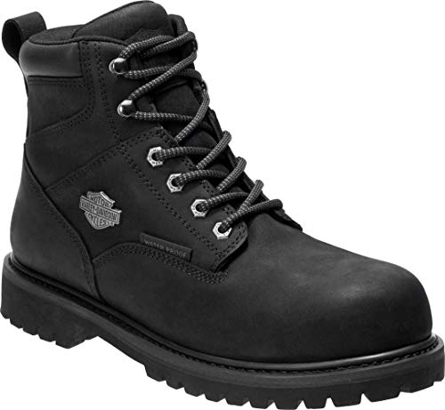 Harley-Davidson Men's Gavern 5.5-In Waterproof Motorcycle Boots D93565 (Blk, 9.5)