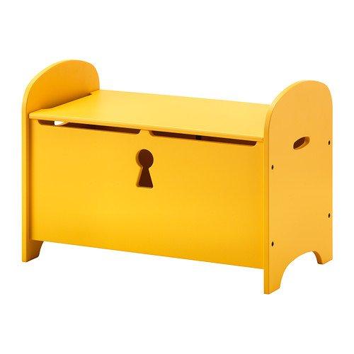 Ikea Trogen Banc De Rangement Jaune 70x39x50 Cm Amazon