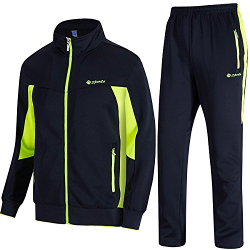 TBMPOY Men's Tracksuit Athletic Sports Casual Full Zip Sweatsuit 1 Fashion Online Shop 🆓 Gifts for her Gifts for him womens full figure