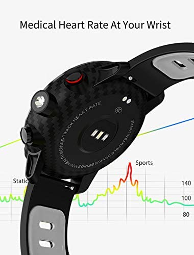 Fitness Tracker Activity Tracker Heart Rate Monitor Pedometer IP68 Sports Smart Watch Multifunction 6