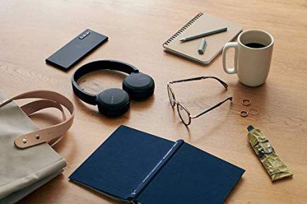 Sony-WH-CH510-Casque-Sans-Fil-Bluetooth-avec-micro-integre-et-appels-mains-libres-Noir