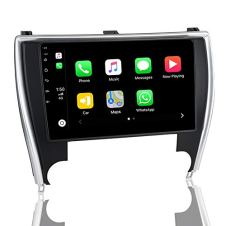 ViaBecs-Android-100-Car-Stereo-with-Bluetooth-50-Wireless-Carplay-for-Toyota-Camry-2015-2017-Single-Din-Head-Unit-Car-Audio-1280-x-720-Google-Maps-Split-Screen-USB-RDS-Radio-SWC-4GB64GB
