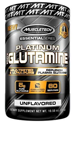 Muscletech Essential Series Platinum 100% Glutamine – 300g