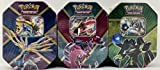 Pokemon Shiny Kalos EX Tins TCG Game 2016 - All 3 TINS Xerneas, YVeltal, & Zygarde!