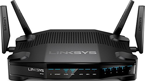 Linksys AC3200 Dual-Band WiFi Gaming Router with Killer Prioritization Engine WRT32X (Certified Refurbished)