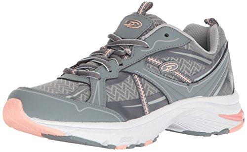 Dr. Scholl's Shoes Women's Persue Walking Shoe, Monument Action Leather, 8.5 M US
