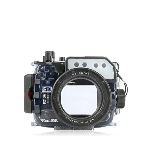 Seafrog-60m195ft-Waterproof-Underwater-Camera-Housing-Case-Universal-Works-for-Sony-RX100-I-II-III-IV-V-Cameras
