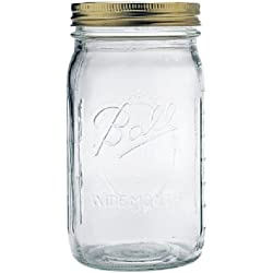 Ball Quart Jar, Wide Mouth, Set of 12