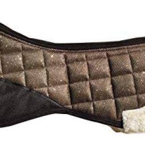 TGW RIDING Faux Fur/Sheepskin Horse Half Pads