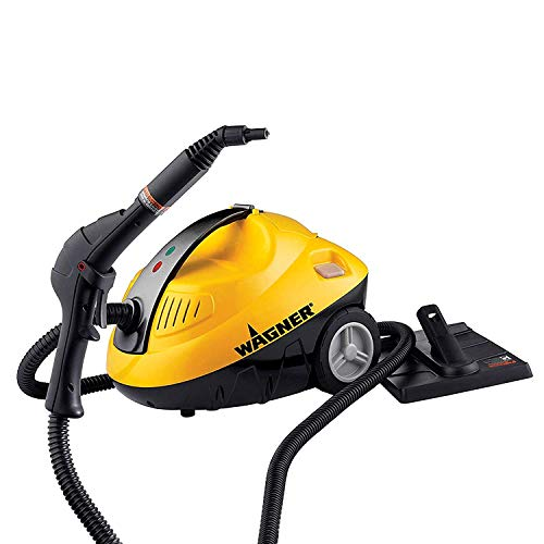 Wagner Spraytech 0282014 915 On-demand Multipurpose Steam Cleaner for Wallpaper Removal Cleaning Floors and Countless Household Uses, Yellow