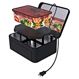 Portable Oven Personal Food Warmer for Prepared Meals Reheating & Raw Food Cooking at Work Without Using Office Microwave by Aotto