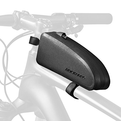 RockBros Top Tube Bag Water Resistant IPX4 Bike Frame Bag Bicycle Front Phone Bag Cycling Accessories Pouch M