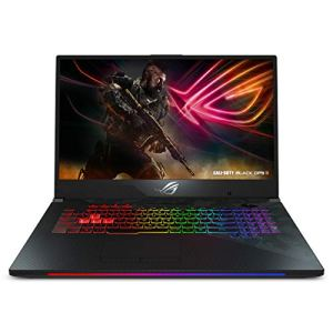 Asus ROG Strix Scar II Gaming Laptop, 17' 144Hz IPS-Type Full HD, NVIDIA GeForce RTX 2060 6GB, Intel Core i7-8750H, 16GB DDR4 RAM, 512GB PCIe SSD, RGB KB, Windows 10 - GL704GV-DS74