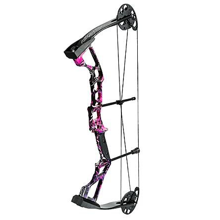 Darton 20-30 lb. Left Hand Recruit Youth Compound Bow Package, Muddy Girl