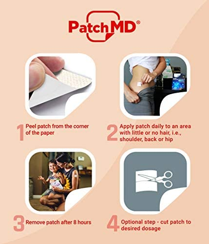 PatchMD – D3/K2 Topical Patches – Natural Ingredients, Supports Healthy Immune System - 30 Day Supply 3