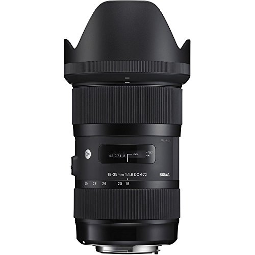 Sigma 18-35mm F1.8 Art DC HSM Lens for Sony (210205) (Renewed)