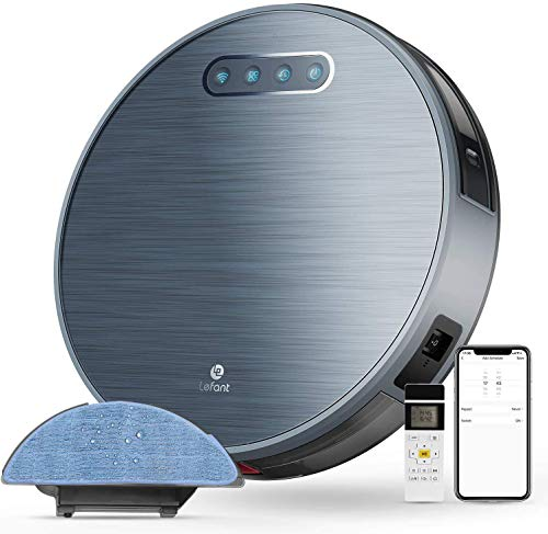 Lefant-Robot-Vacuum-and-Mop-Sweeping-Mopping-Robot-Vacuum-Cleaner-with-2200Pa-Suction180-Mins-Runtime-Works-with-Alexa-Self-Charging-Ideal-for-Pet-Hair-Floor-and-CarpetsM571