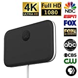 SLx TV Antenna Ultra Compact for Digital TV Indoor 4K HD | Free OTA Channels HDTV