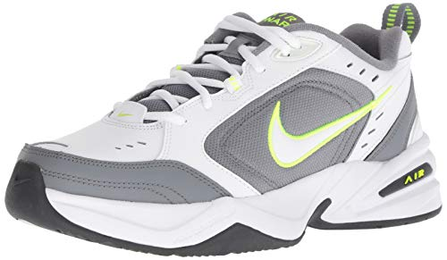 Nike Men's Air Monarch IV Cross Trainer, White-Cool Grey-Anthracite, 14 Regular US