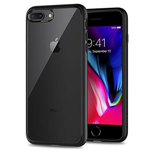 Spigen Ultra Hybrid [2nd Generation] Designed for Apple iPhone 8 Plus Case (2017) / Designed for iPhone 7 Plus Case (2016) - Black