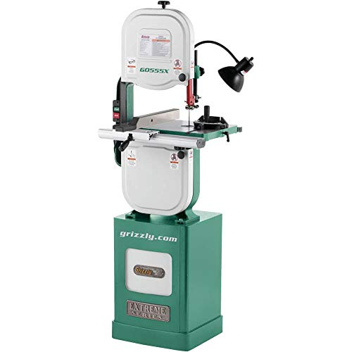 """Grizzly Industrial G0555X - 14"""" 1-1/2 HP Extreme Series Bandsaw"""