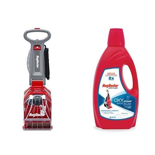 Rug Doctor Deep Carpet Cleaner and Rug Doctor Oxy Pro Carpet Cleaner,64oz Bundle