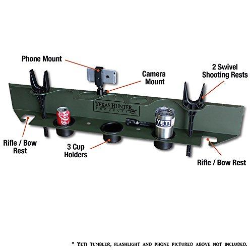 Texas Hunter Sportsman's Deer Blind Shelf & Shooting Rest - Model SS1