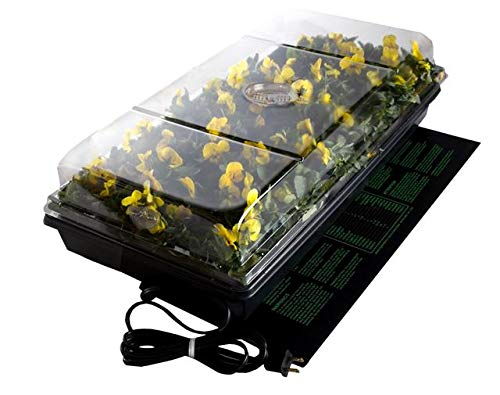 Jump Start,CK64050 Germination Station w/UL Listed Heat Mat, Tray, 72-Cell Pack, and 2' Dome