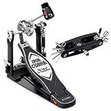 Tama HP900RNB Iron Cobra 900 Rolling Glide Single Pedal w/Bonus Multi-Tool