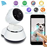 Linker Wish Wireless Security Camera 1million Pixels HD WiFi Camera Wireless Security Camera Baby Monitor Camera Pan Tilt CCTV Home Security IR Night Vision