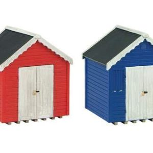 Graham Farish 42-0080 Scenecraft Beach Huts 2pcs (Pre-Built) 41jpXpYU20L