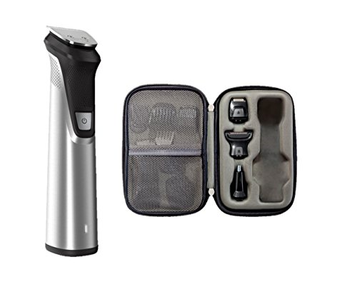 Philips Norelco Multi Groomer MG7770/49 - 25 piece, beard, body, face, nose, and ear hair trimmer, shaver, and clipper w/ premium storage