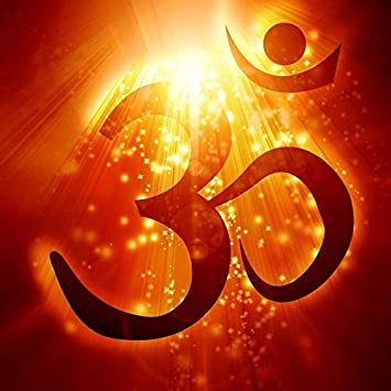 "Glowvia Om Symbol Poster/OM Digital Art Print/Size 20""x20"": Amazon ..."
