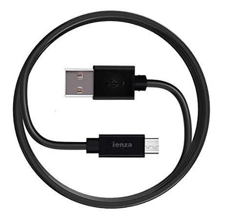ienza Long 10FT USB Power Cable Charger for Amazon Kindle Fire Tablet with Alexa, Paperwhite , Oasis, Fire Kids Edition, Fire TV Stick, All New Fire TV Pendant, Echo Dot & More